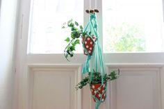 DaWanda DIY: Makramee-Blumenampel mit Hooked Zpagetti | DaWanda - People and Products with Love