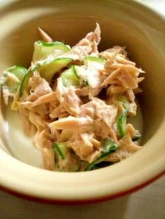 お弁当にもおつまみにも☆きゅうりのツナマヨ和え レシピ・作り方