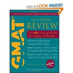 #10: The Official Guide for GMAT Review.