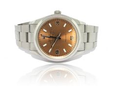 Copper face Rolex, pre-owned, for sale at Francis Jewellers in Victoria BC