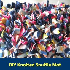 5 DIY Snuffle Mats for Dogs (Fido Will LOVE #4) - PawSoCute