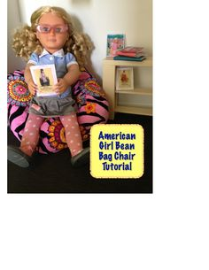 American Girl Bean Bag Chair