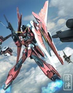 ZGMF-X23S Saviour Gundam is a Mobile Suit in the series Gundam SEED Destiny. It is piloted by Athrun Zala.