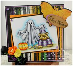 Whimsy Stamps / Crissy Armstrong  - Boo!  by Iris Wiechmann