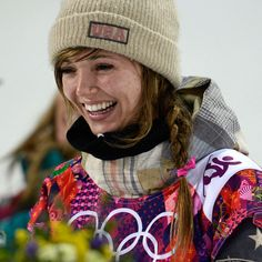 Earlier today in Sochi, American snowboarder Kaitlyn Farrington dominated the women's halfpipe and earned a gold medal.