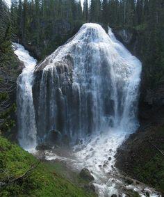 Heart Warming Union Falls, Yellowstone National Park – Wyoming
