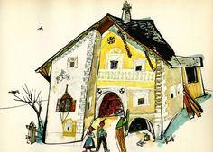 Schellen-Ursli's house