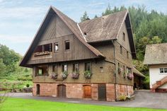 Bauernhof 928789 in Holdersbach - Casamundo Hotels, Rustic Wedding Venues, Cabin, House Styles, Home Decor, Black, Cottage House, Decoration Home, Room Decor