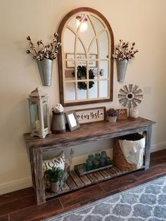11 Cozy Farmhouse Living Room Decor Ideas That Make You Feel In Village - harian. 11 Cozy Farmhouse Living Room Decor Ideas That Make You Feel In Village - hariankoran Always aspired to learn to knit, n. Decor, Farm House Living Room, Rustic House, Sweet Home, Living Decor, Entryway Decor, Home Decor, Room Decor, Rustic Entryway