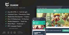 Colangine - Creative Flat HTML5 Template   http://themeforest.net/item/colangine-creative-flat-html5-template/5214550?ref=damiamio         Colangine is a Creative and Flat HTML5, CSS3 Template with 66 Valid html templates, Multipurpose and modern, fullwide, boxed and blocked version. Dark and Light With 10 Custom colors and you can easy change all colors. Well Documented. fully responsive with pretty dropdown menu navigation for small screen devices. Wow 13 Awesome slider with different…