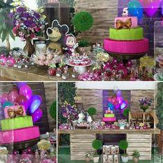 #sentimentalexpresskids#festamashaeourso #mashaeourso #festainfantil #partydecoration #festamenina #festaurso #dwcoracao #aniversario