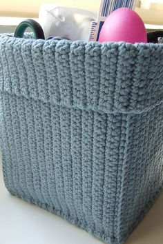 Ravelry: iSeL's Small Crochet Basket