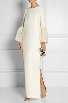 Beige Shift Prom Elegant Maxi Dress - - Ciciway Prom Dresses Long Sleeve 1 Shirt Dress Evening Shift Crew Neck Paneled Elegant Dresses – ciciway Source by annatkina Prom Dresses Long With Sleeves, Formal Dresses, Sexy Dresses, Casual Dresses, Long Dresses, Casual Outfits, Modest Fashion, Hijab Fashion, Hijab Stile