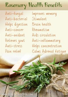 Rosemary's amazing health benefits | Trinity's Conscious Kitchen