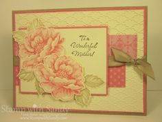 Stippled Blossoms by stampwithsandy - Cards and Paper Crafts at Splitcoaststampers