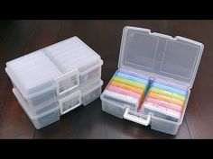 "Rainbow 12-Case 4"" x 6"" Photo Storage Carrier 