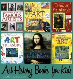 Art Appreciation and Art History Books for Kids