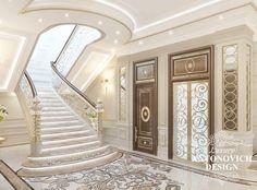 15 Interior Design Ideas of Luxury Living Rooms Luxury Decor, Luxury Interior, Home Interior Design, Interior Columns, Classic House Design, Luxury Homes Dream Houses, Villa Design, Dream Decor, Colors