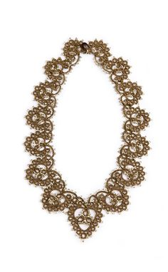 Lorina Bijoux ~ beautiful collection of tatted necklaces here!