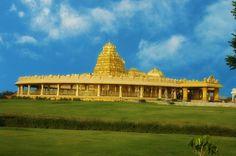 Sripuram Golden Temple, Vellore, Tamil Nadu