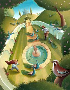 Aesop's Fables - The King's Garden
