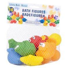 Lot De 10 Jouet Pour Le Bain Enfant Bébé Figurine Animal #jouets #Bain #Kids