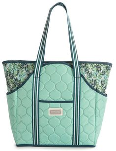 Check out this Purely Peacock Cinda B Ladies Tennis Court Bag! Find the best Tennis Accessories at nicolestennisboutique.com