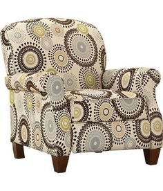Chairs, Starlight Recliner, Chairs | Havertys Furniture - add'l fabrics available - $800 - 37Hx34Wx29D