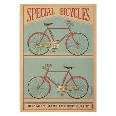 Cavallini en Co Poster Special Bicycles
