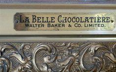 "TIN SIGN /""Walter Baker Cocoa/"" Chocolate Deco Garage Wall Decor"
