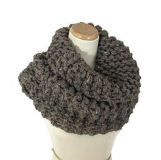 Outlander Inspired Cowl Chunky Cowl Hand Knit by ArlenesBoutique $50.00 #cowl #outlander #knitscarf