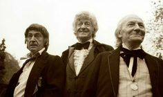 the original doctors - two, three, and one. When people say they think classic Doctor Who is boring, I die a little inside.