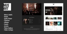 Musart - Music Label and Artists #WordPress #Theme - Music and Bands Entertainment