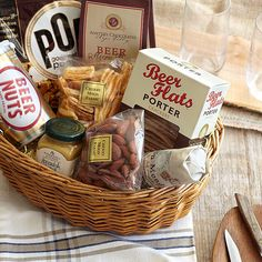 The beer companion basket