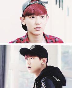 Chanyeol on roommate
