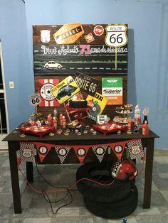 Festa Posto Garage Vovô Roberto 71 anos de estrada - feito por mim