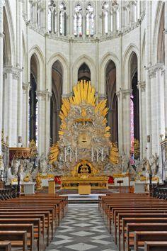 Cath�drale Notre-Dame d'Amiens � Amiens Somme amiens France, auteur gerardgg pour Patrimoine de France, aucun partage sans mention de la source et de l'auteur merci.