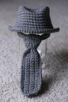 Free Crochet Pattern Baby Fedora : Crochet baby fedora hat pattern free