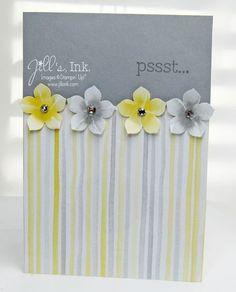 Watercolor Wonder Petals Card - Jills, Ink.
