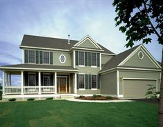 Eplans Farmhouse House Plan - Four Bedroom Farmhouse - 2864 Square Feet and 4 Bedrooms from Eplans - House Plan Code - PeRfECT farmhouse Southern House Plans, Country Style House Plans, Dream House Plans, Small House Plans, House Floor Plans, Victorian House Plans, Farmhouse Plans, Country Farmhouse, House Design