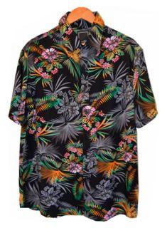 Camisa Floral Masculina Viscose - Polinésia A moda floral masculina chegou  aos poucos junto com as 6fa72a4694789