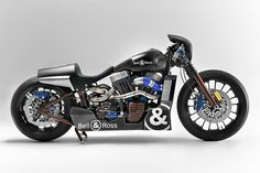 Someone at the premium watch brand Bell & Ross likes custom bikes: they commissioned one of the most radical Harley Softails we've ever seen.