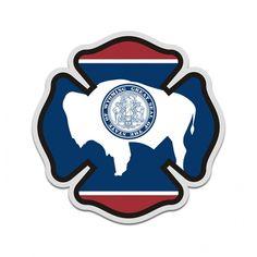 Utah State Police Blue Line Decal UT Tattered American Flag Sticker 2 Pack