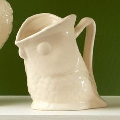 Two's Company Owl Pitcher - Tea & Coffee - Kitchen