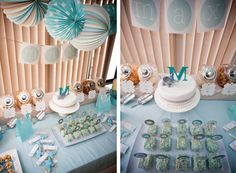 anniversaire un an - garcon - theme elephant - 2 Bebe Shower, Ideas Para, Backdrops, Baby Boy, Candy, Table Decorations, Birthday, Diy, Inspiration
