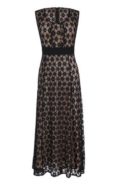 ANGVNS Women's Floral Lace Sleeveless Bridesmaid Evening Long Maxi Dress 1