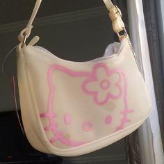 2000s Fashion, Look Fashion, Fashion Bags, Fashion Accessories, Hello Kitty Purse, Hello Kitty Items, Hello Kitty Clothes, Hello Kitty Things, Hello Kitty Outfit