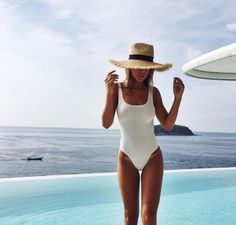 Love this white one piece