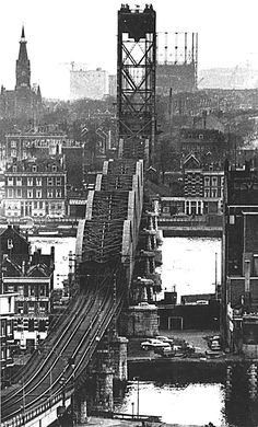 Rotterdam, Great Pictures, Old Pictures, Dutch Netherlands, Paradise On Earth, 10 Picture, New City, Train Tracks, Street Photography