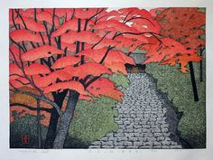 (Japan) Nara town in Autumn by Kazuyuki Ohtsu. Japan